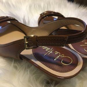 Cole Haan Shoes - Brown Cole Haan Buckle Heels